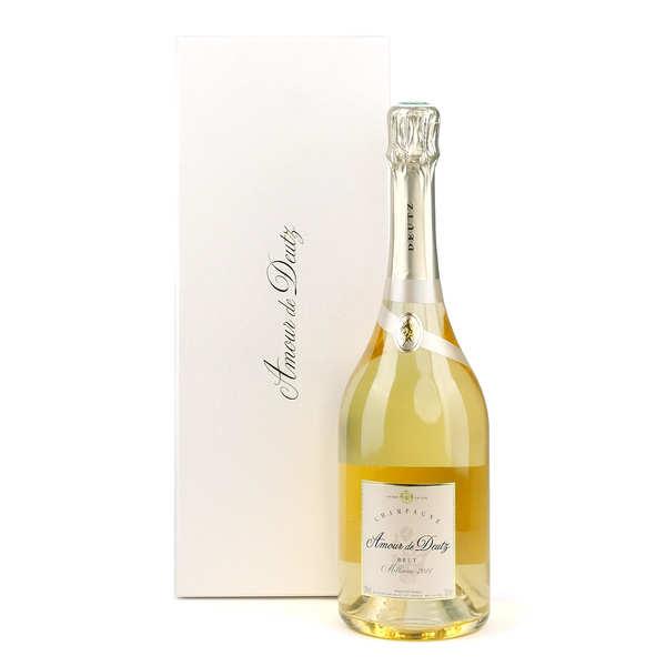 Champagne Deutz Cuvée Amour - Coffret 2 verres