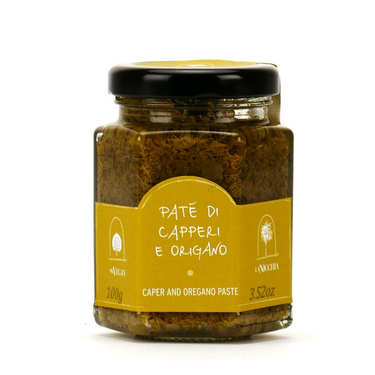 Caper and oregano paste