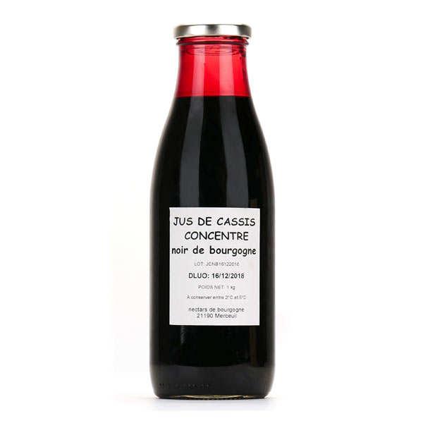 Jus concentré de cassis noir de bourgogne - bouteille 75cl