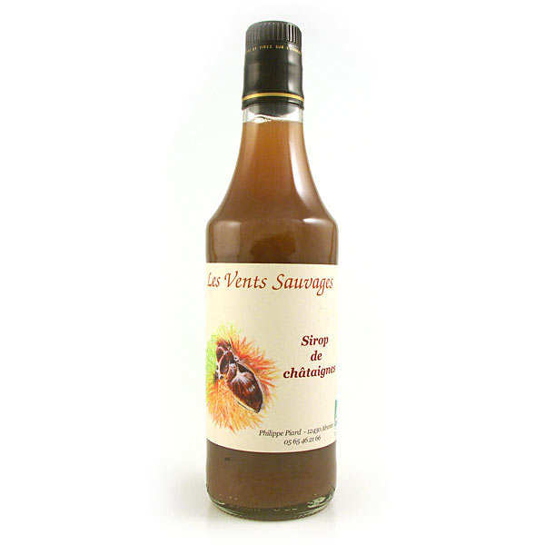 Organic chestnut syrup