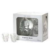 Crystal Head - Crystal Head Vodka 40% - 2 glasses gift