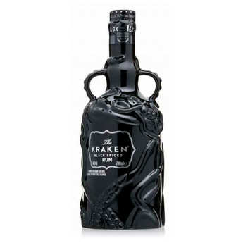 Beach House - Rhum Kraken black spiced Rum - Black ceramic 40%