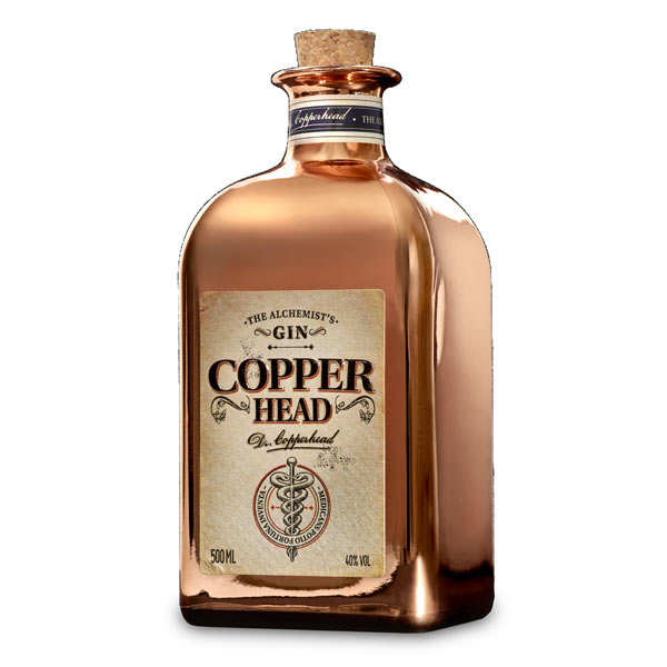 Gin Copperhead the Alchemist's 40%