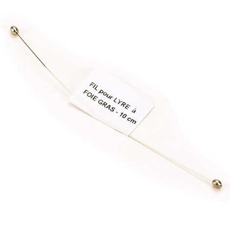 - Fil pour lyre à foie gras 10cm