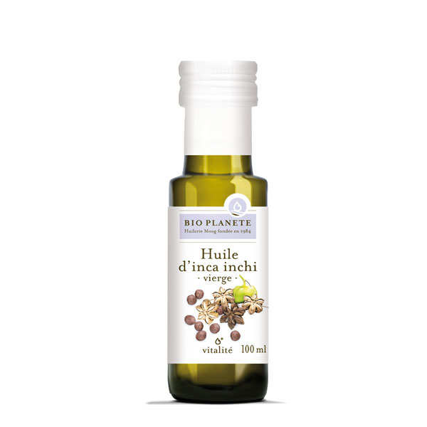 Organic inca inchi oil