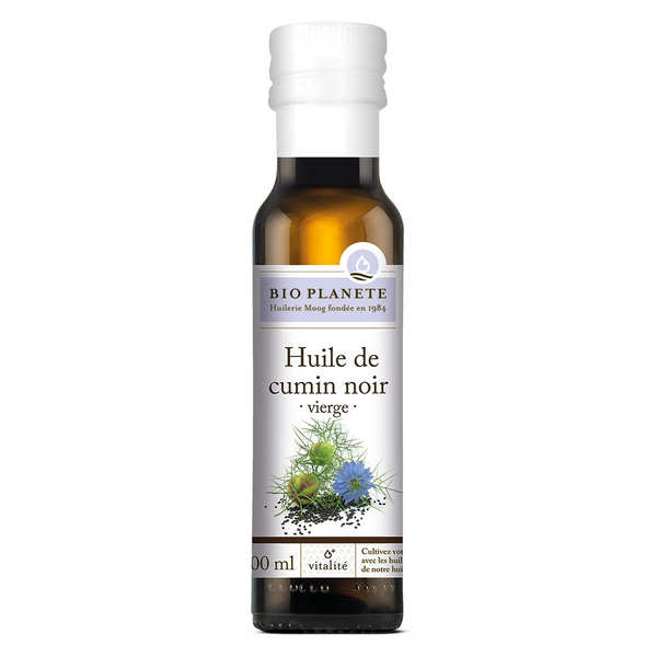 Organic black cumin (nigella) oil