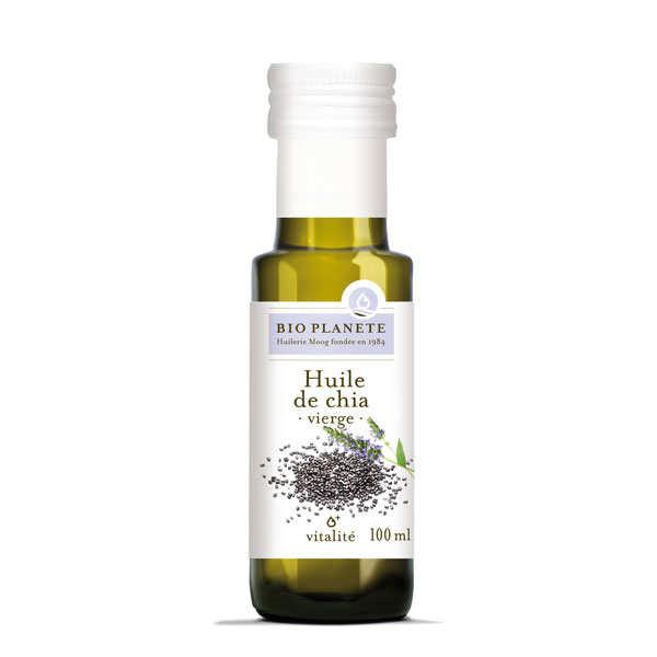 Organic chia virgin oil