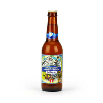 Brasserie du Mont Blanc - White from Mont Blanc - French Beer 4.7%