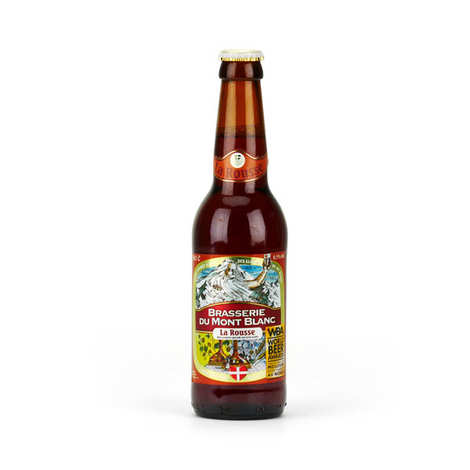 Brasserie du Mont Blanc - Red from Mont Blanc - French Beer 6.5%
