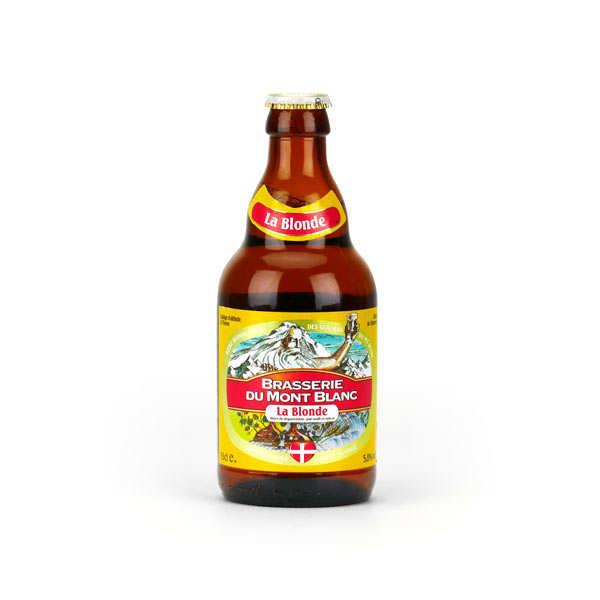Blonde du Mont Blanc - Bière française 5.8%
