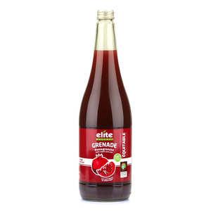 Elite Naturel - Pure organic pomegranate juice bottle