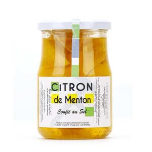 Tante fine - Lemon from Menton preserve with salt