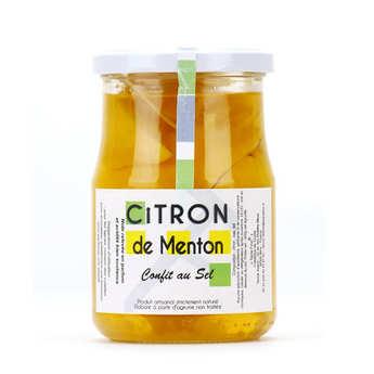 Tante fine - Citron de Menton confit au sel