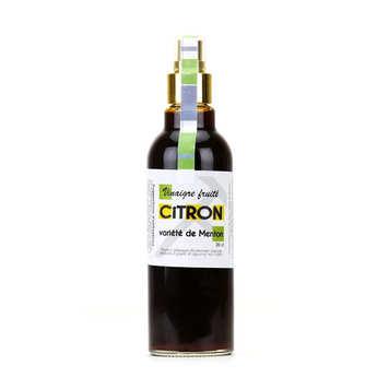 Tante fine - Vinaigre fruité au citron de Menton