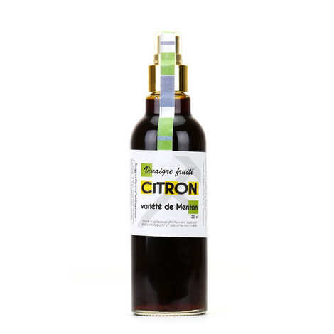 Tante fine - Fruity vinegar of Lemon from Menton
