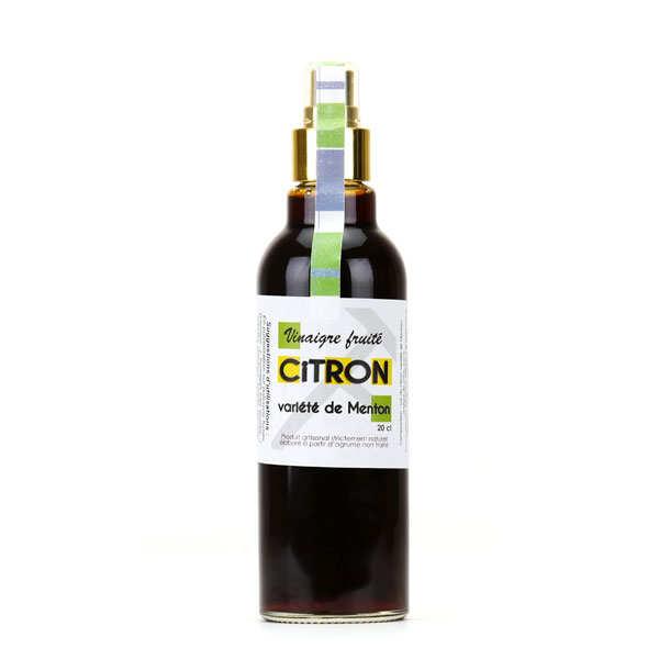 Vinaigre fruité au citron de Menton