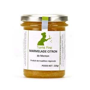 Tante fine - Marmalade of Lemon from Menton