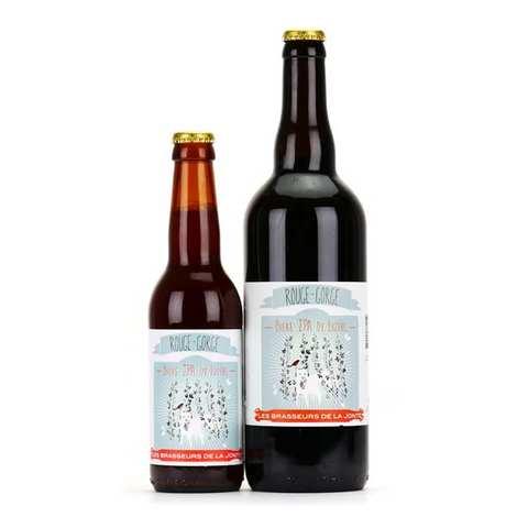 Les brasseurs de la Jonte - Bière Rouge Gorge de Lozère - Rousse IPA 7%