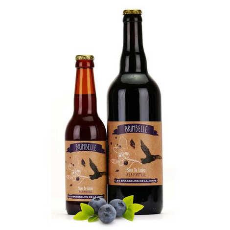 Les brasseurs de la Jonte - Blueberry White French Beer Brimbelle 5%
