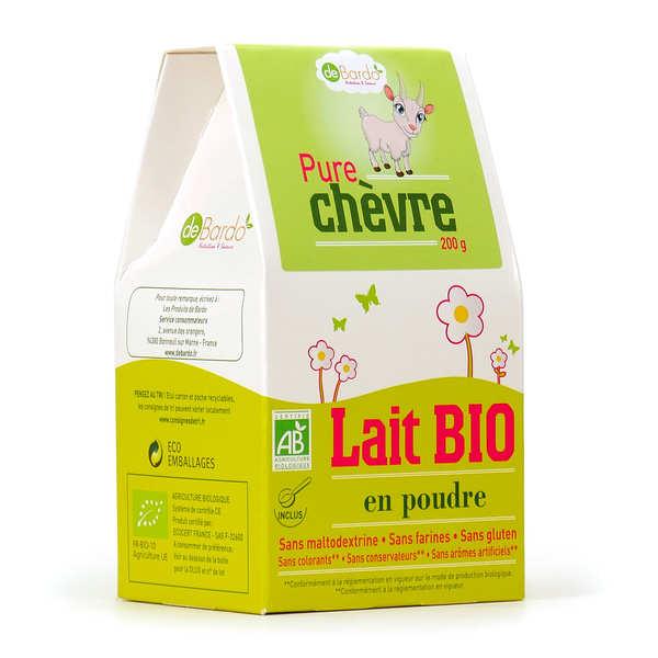 Lait de chèvre 100% en poudre bio
