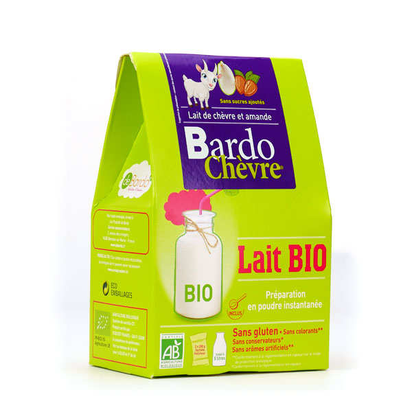 Bardo Chèvre® - Organic Goat Milk And Almond Drink