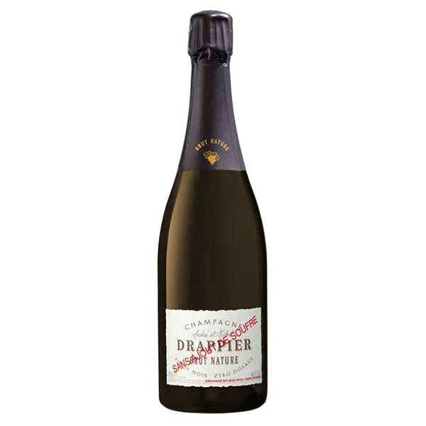 Champagne Drappier Brut Nature sans soufre ajouté