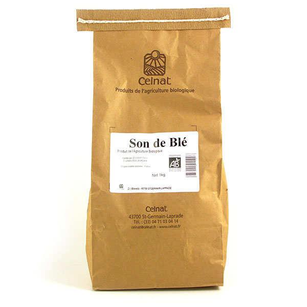 Son de blé bio en sac de 1kg