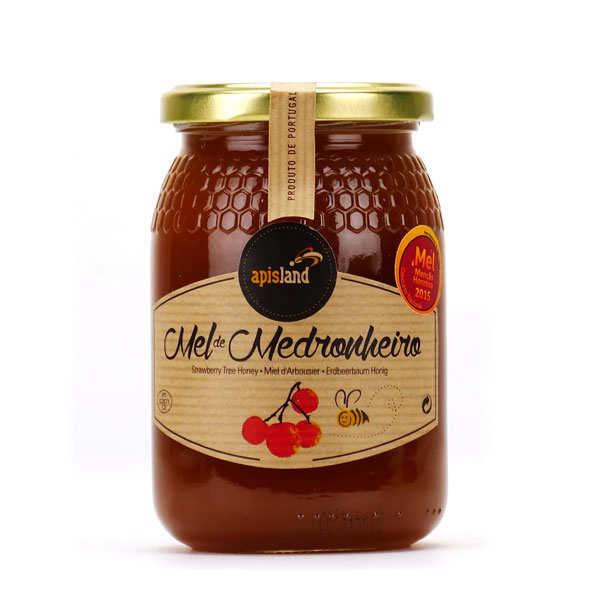 Miel d'arbousier récolté au Portugal