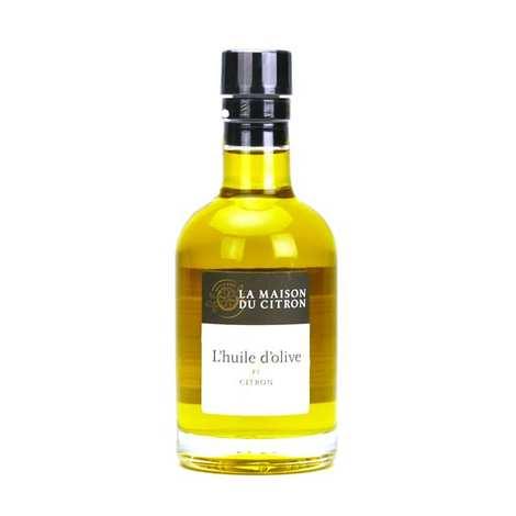 La Maison du Citron - Huile d'olive au citron de Menton