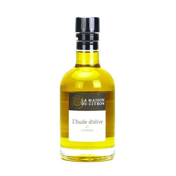 Huile d'olive au citron de Menton