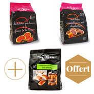 Maison Taillefer - Lot de 2 paquets de tartelettes + 1 paquet de financiers offert
