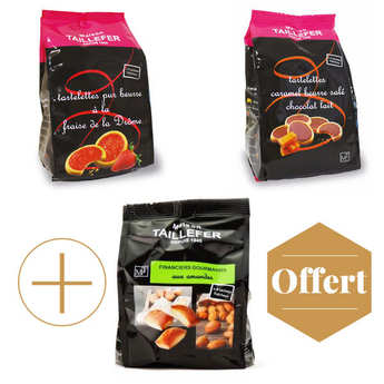 Maison Taillefer - 2 biscuits bags + 1 for free