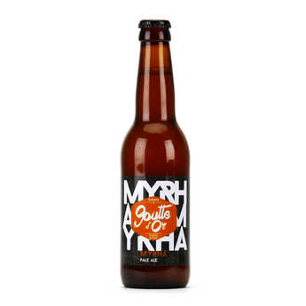Brasserie de la Goutte d'Or - Myrha - Pale Ale beer 5%