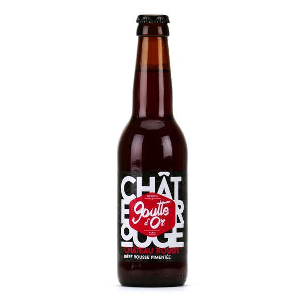 Château Rouge - Bière rousse pimentée 6%