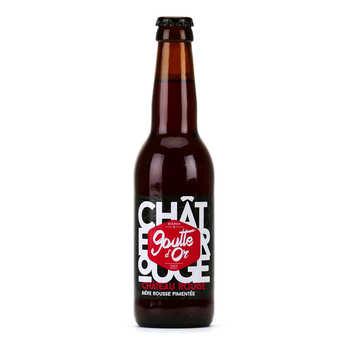Brasserie de la Goutte d'Or - Château Rouge - Bière rousse pimentée 6%