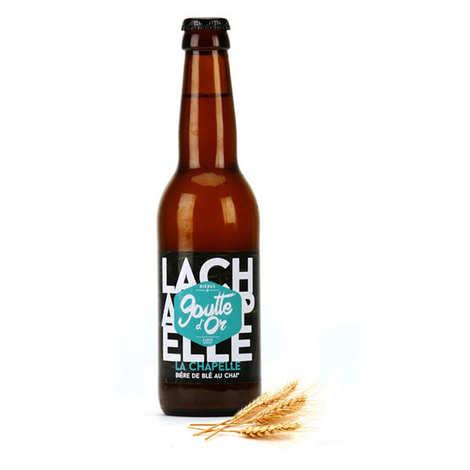 Brasserie de la Goutte d'Or - La Chapelle - White Wheat Beer With Chaï 5%
