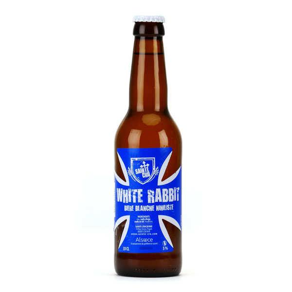 White rabbit - bière blanche d'alsace 5% - bouteille 33cl