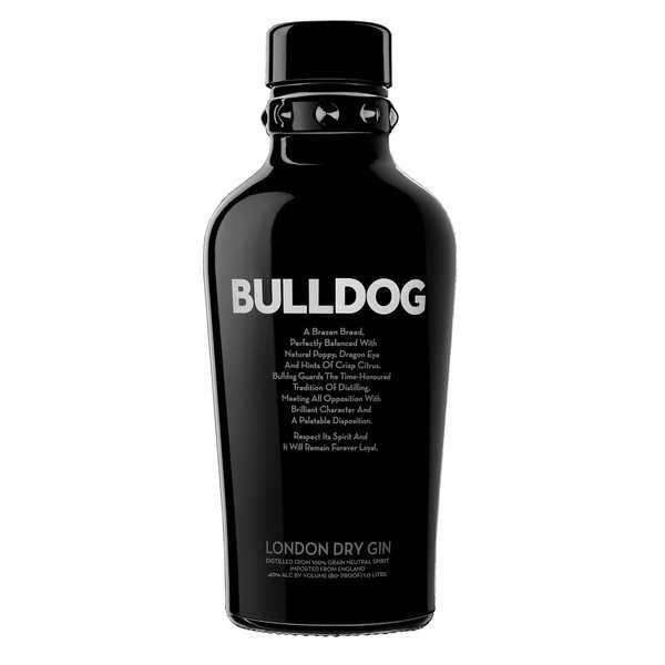 Bulldog - London dry gin 40%