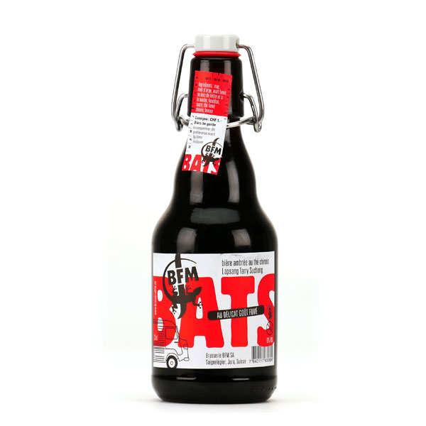 BATS bière ambrée suisse au Tarry Suchong 6%