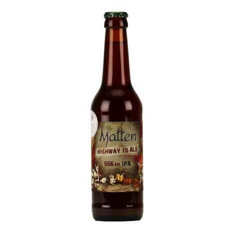 Brasserie Matten - Highway to ale - Bière IPA de France 6.66%