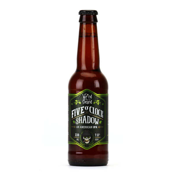 Bière Five O'clock shadow - IPA d'Angleterre 7%