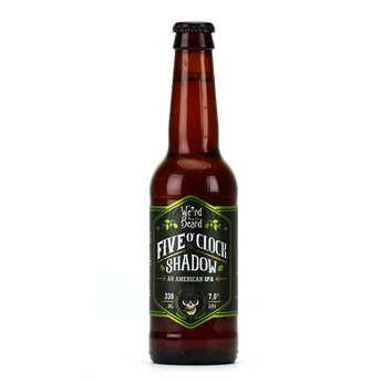 Weird Beard Brewing Co. - Bière Five O'clock shadow - IPA d'Angleterre 7%
