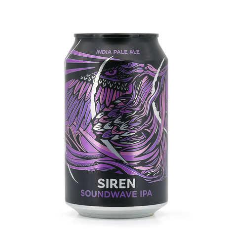 Siren Craft Brew - Soundwave - Bière IPA d'Angleterre 5.6%