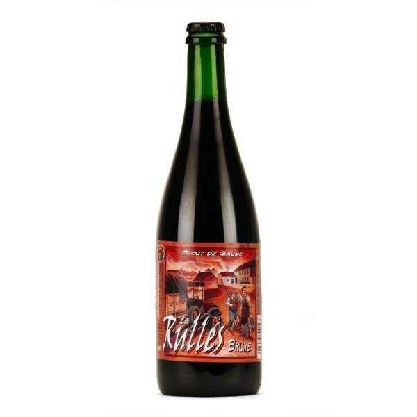 La Rulles - Bière brune de Belgique 6.5%