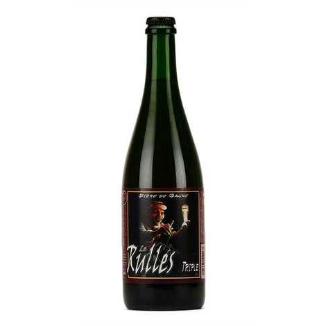 Brasserie Rulles - La Rulles - Bière triple de Belgique 8.4%