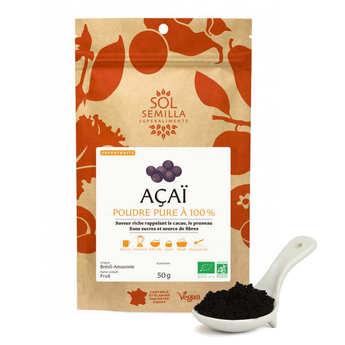 Sol Semilla - Powder of Organic Raw Açaï