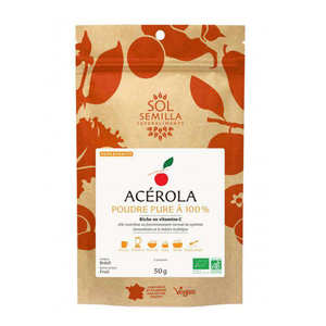 Sol Semilla - Acerola en poudre bio
