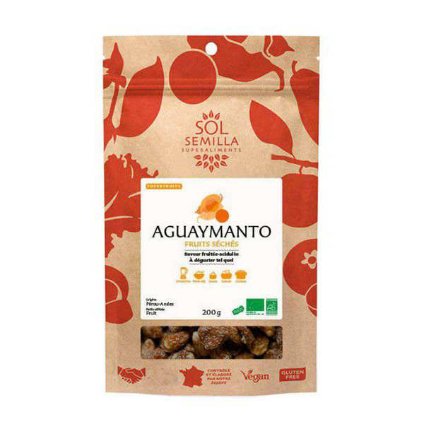 Organic and Dried Aguaymanto