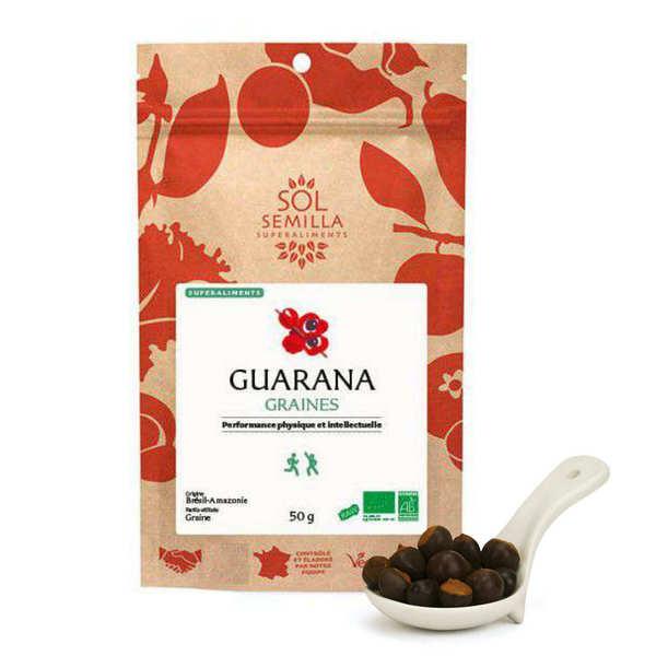 Guarana blanc en graines bio