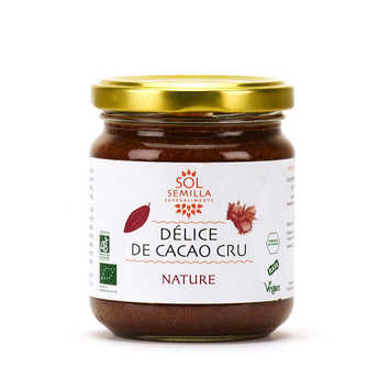 Sol Semilla - Organic Hazelnut and Raw Cocoa Spread